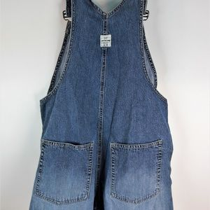 GAP Shorts - Gap blue coveralls size small Pre Owned B16